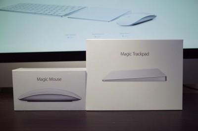 [Apple]本日「Magic Trackpad 2」「Magic Mouse 2」が到着したので早速開封の儀をしてみるよ