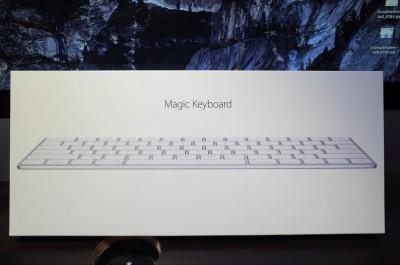 [Apple]本日「Magic keyboard」が到着したので早速開封の儀をしてみるよ