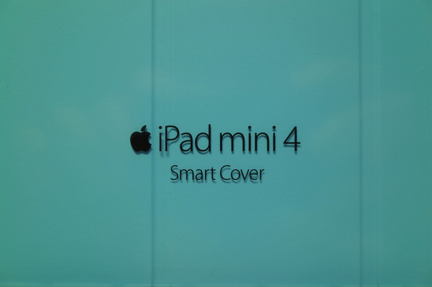 [Apple] iPad mini 4 純正 Smart Coverはしっくりしっかりしたスマートなカバー