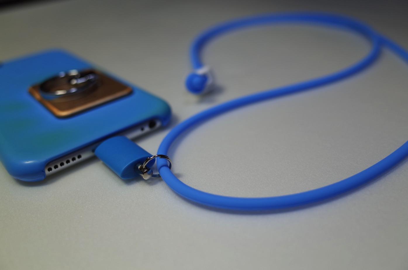 iPhone 6+Lightningコネクター用のネックストラップ-2