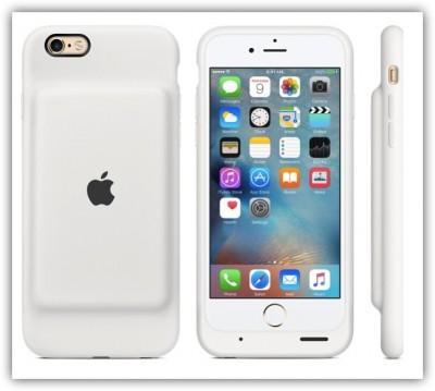 [Apple]一目惚れ!iPhone Smart Battery Caseのホワイトを買ってみたよ〜届くのが楽しみ♪