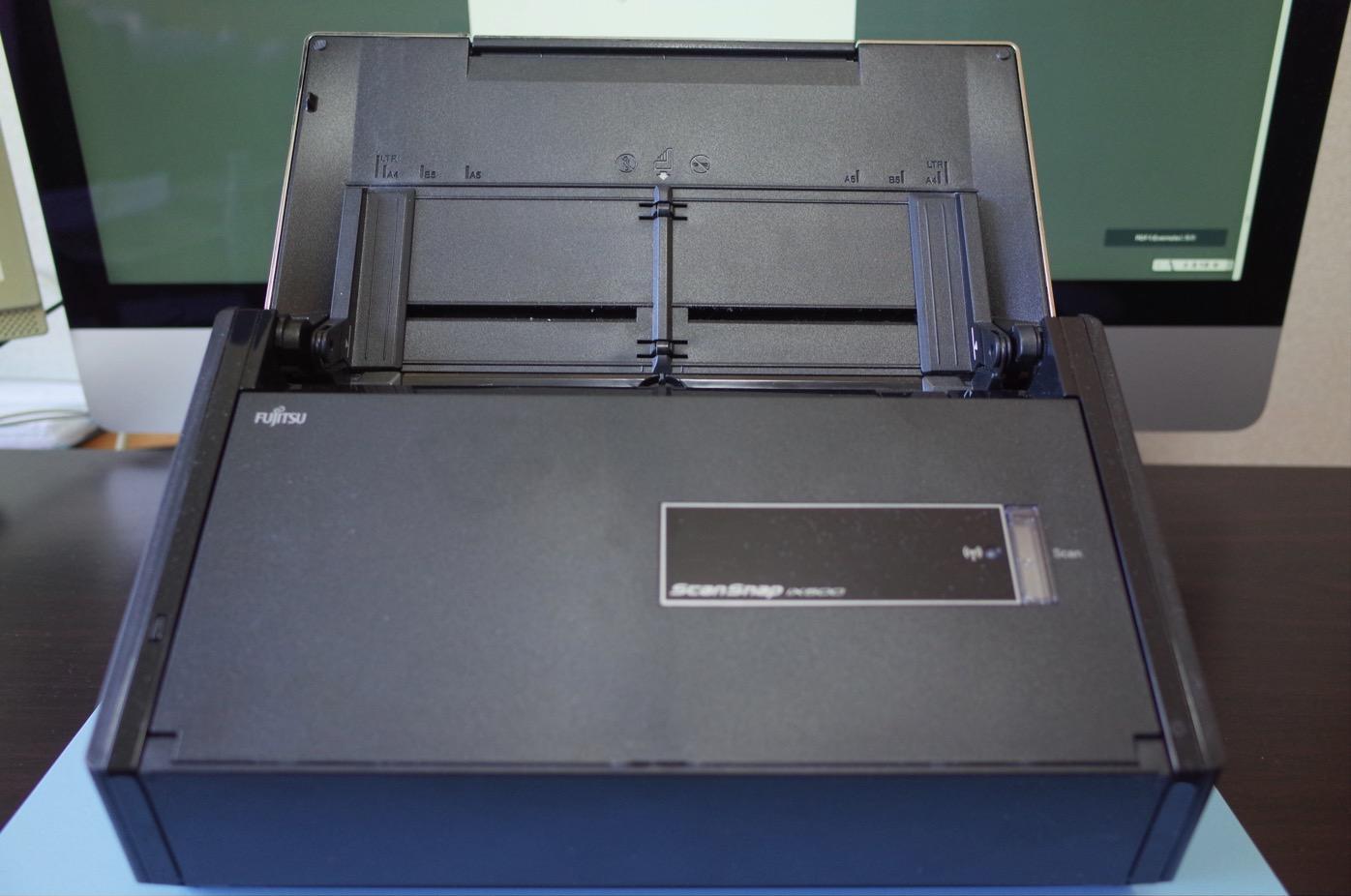 [ScanSnap]綺麗サッパリ!ScanAidでクリーニングしたScanSnap iX500が見違えるようになったよ