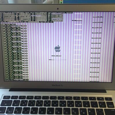 [Mac]起動しないMacBook Airの対処方法を7つ試してみたけどどれもだめだった件