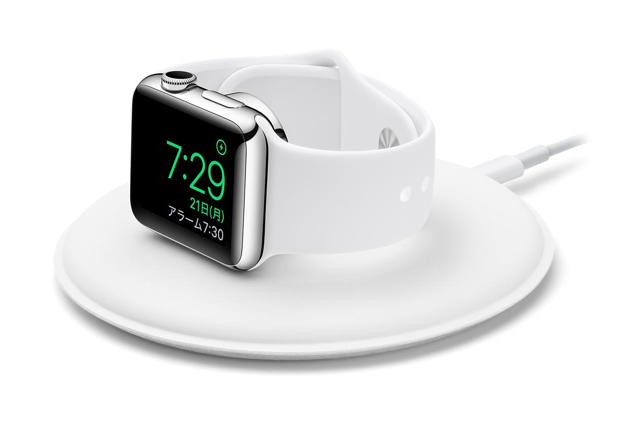 [AppleWatch][Amazon]iEC Apple watch スタンド 2in1 充電スタンド 接触面TPU素材 シルバーを買ってみたよ