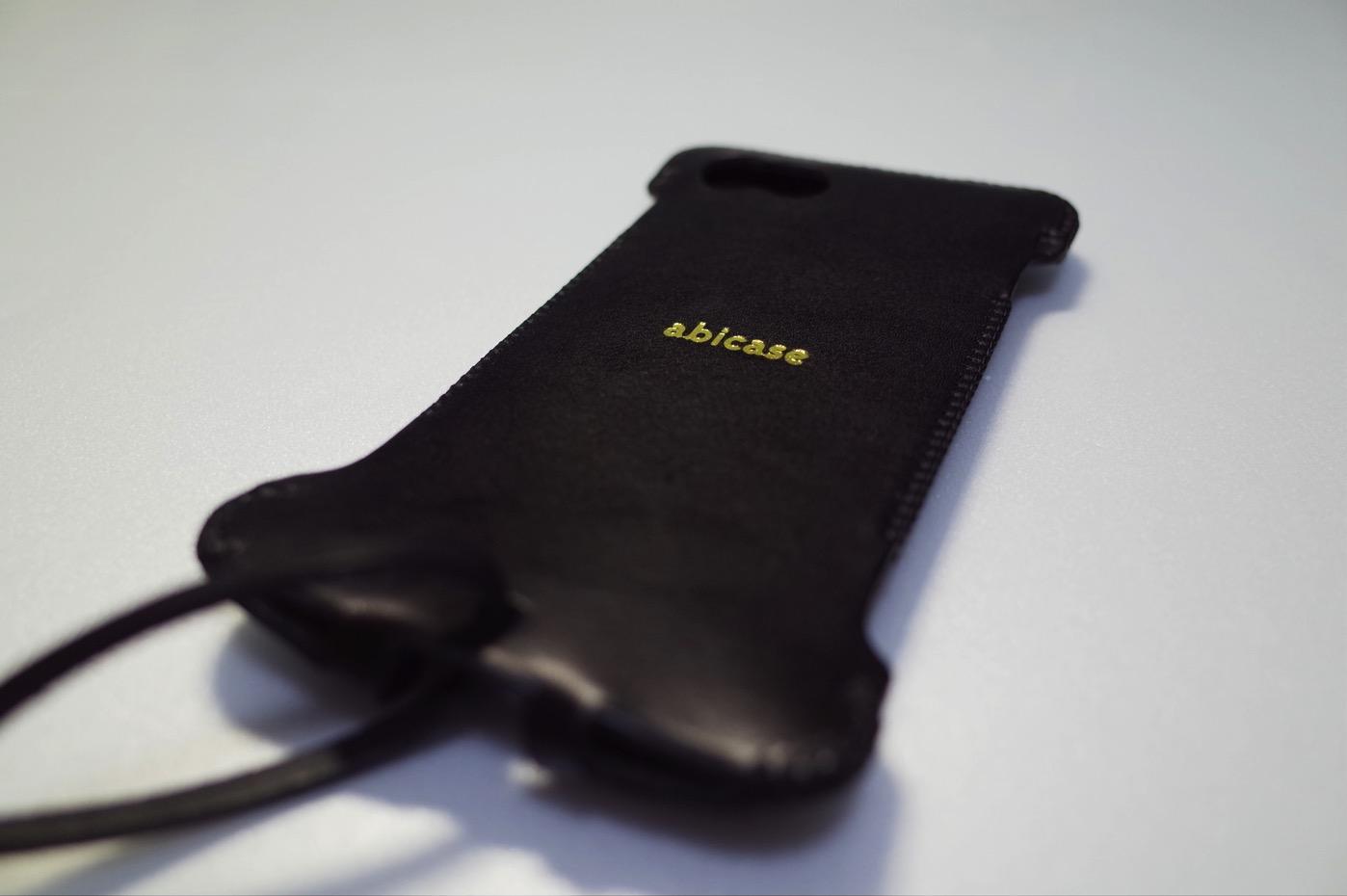 [iPhone]新型iPhone 7 ジェットブラック 256GBを大切に包み込み職人技が際立つabicaseが届いたよ