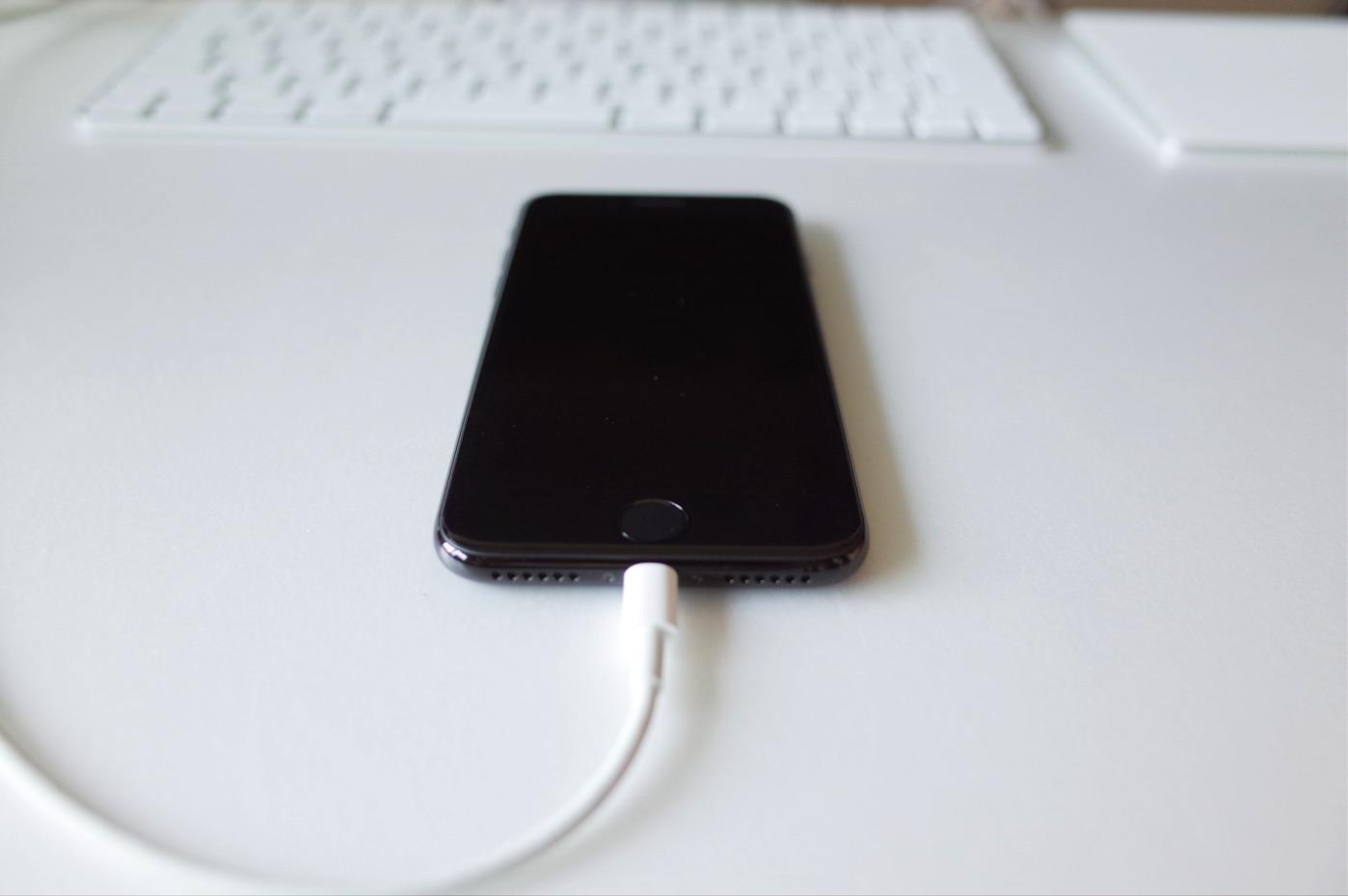 iPhone 7 ジェットブラック 256GB-17