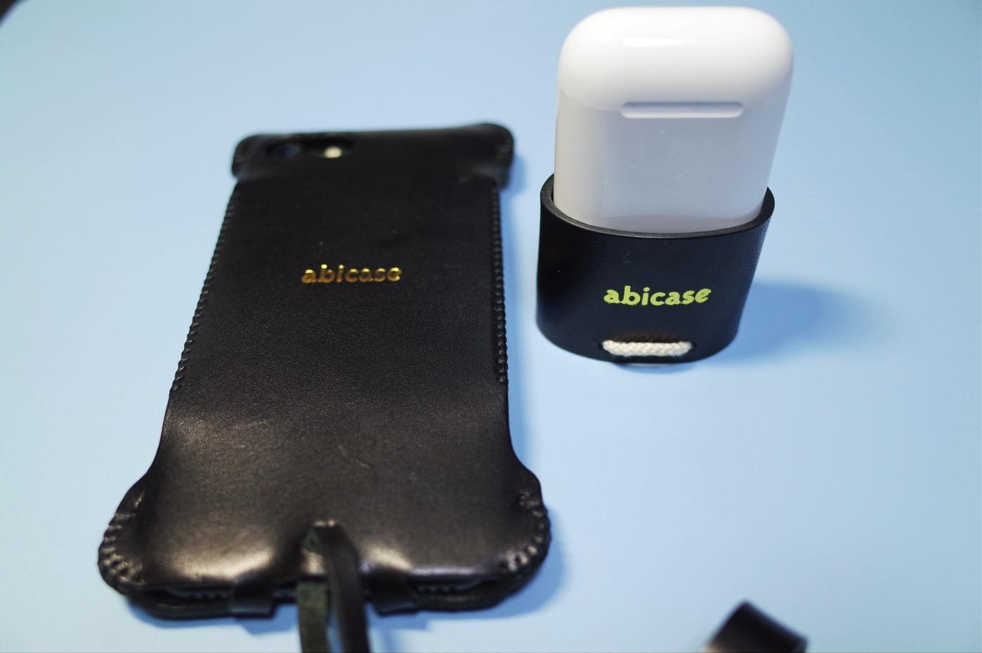 iPhone 7 ジェットブラック & abicase-1