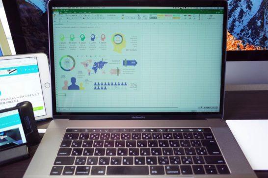 [Mac]MacBook Pro(2016)のTouch Barに対応したMicrosoft「Office 2016 for Mac 15.31.0」を使ってみたよ