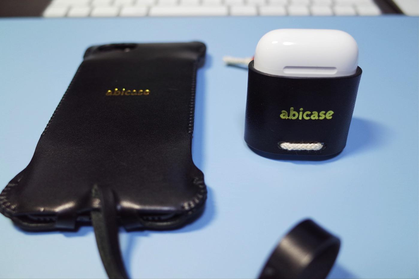 iPhone 7 ジェットブラック & abicase-2