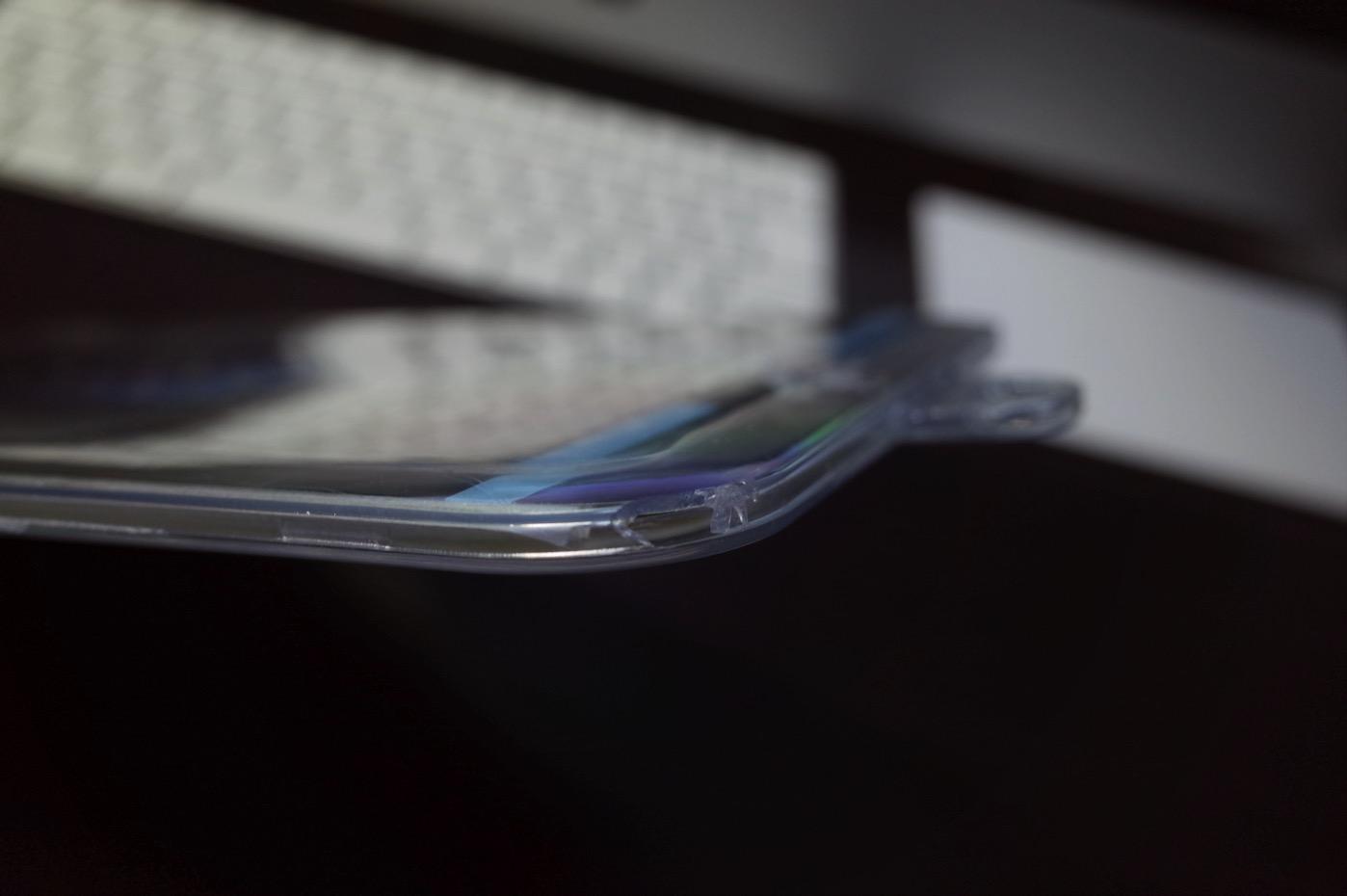 RoiCeil 液晶保護強化ガラスフィルム 硬度9H 超薄0.3mm 2.5D ラウンドエッジ加工-4