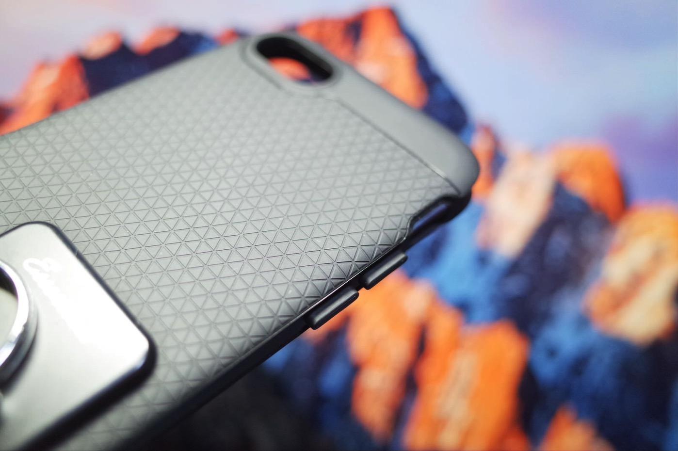 【Spigen】 iPhone7 ケース, ネオ・ハイブリッド [ 米軍MIL規格取得 二重構造 バンパー ] アイフォン 7 用 カバー (iPhone7, ガンメタル)-2