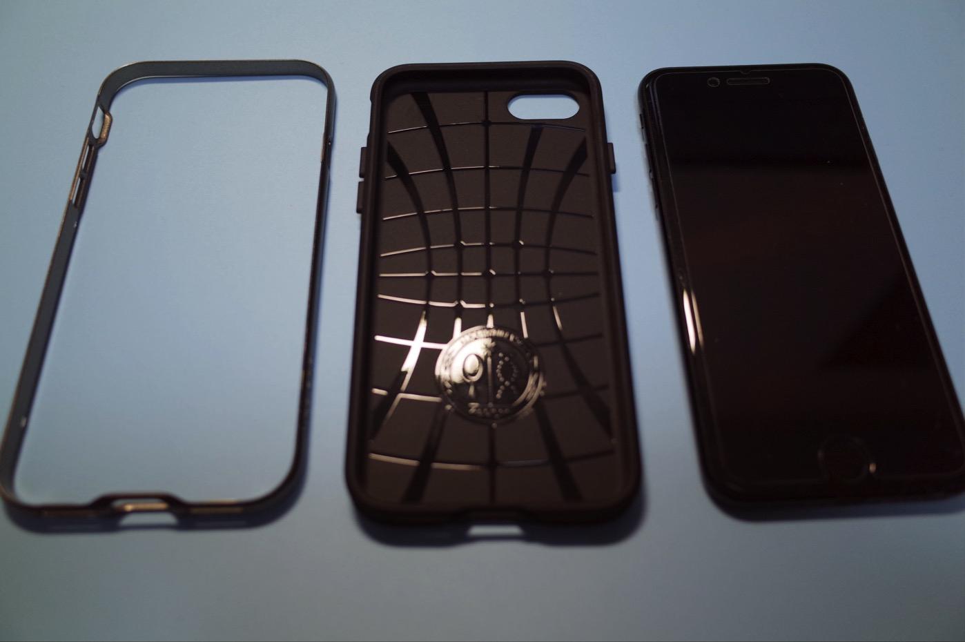 iPhoneケース「ネオ・ハイブリッド米軍MIL規格取得 二重構造バンパー」-7