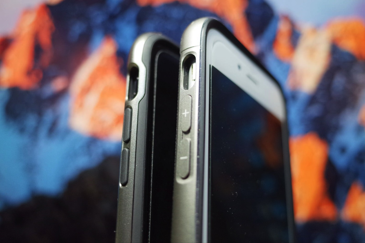 【Spigen】 iPhone7 ケース, ネオ・ハイブリッド [ 米軍MIL規格取得 二重構造 バンパー ] アイフォン 7 用 カバー (iPhone7, ガンメタル)-10