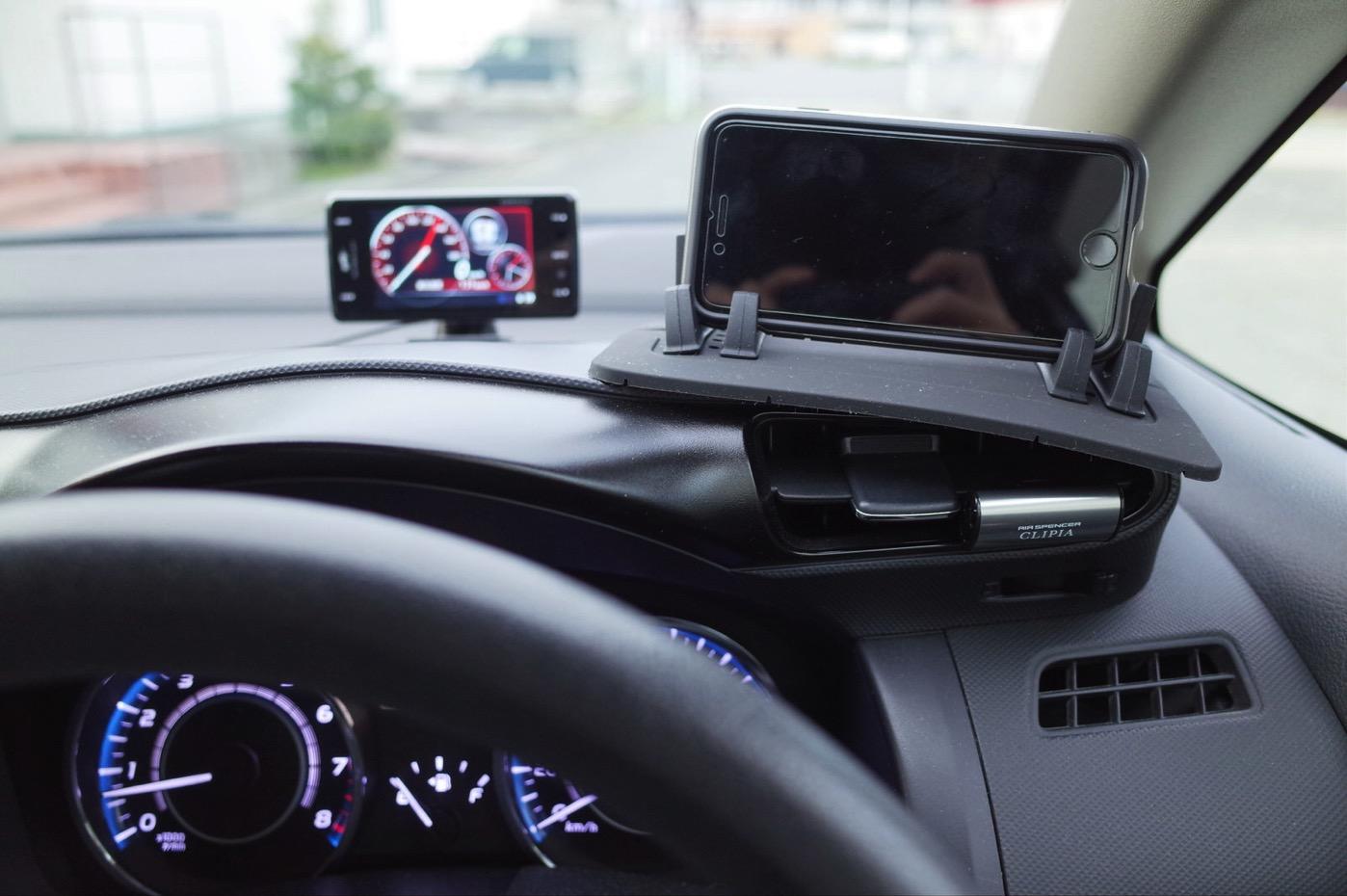 EReachシリコンスマートフォン・携帯車載GPSホルダー ダッシュボード iPhone&Android スタンド (黒)-3