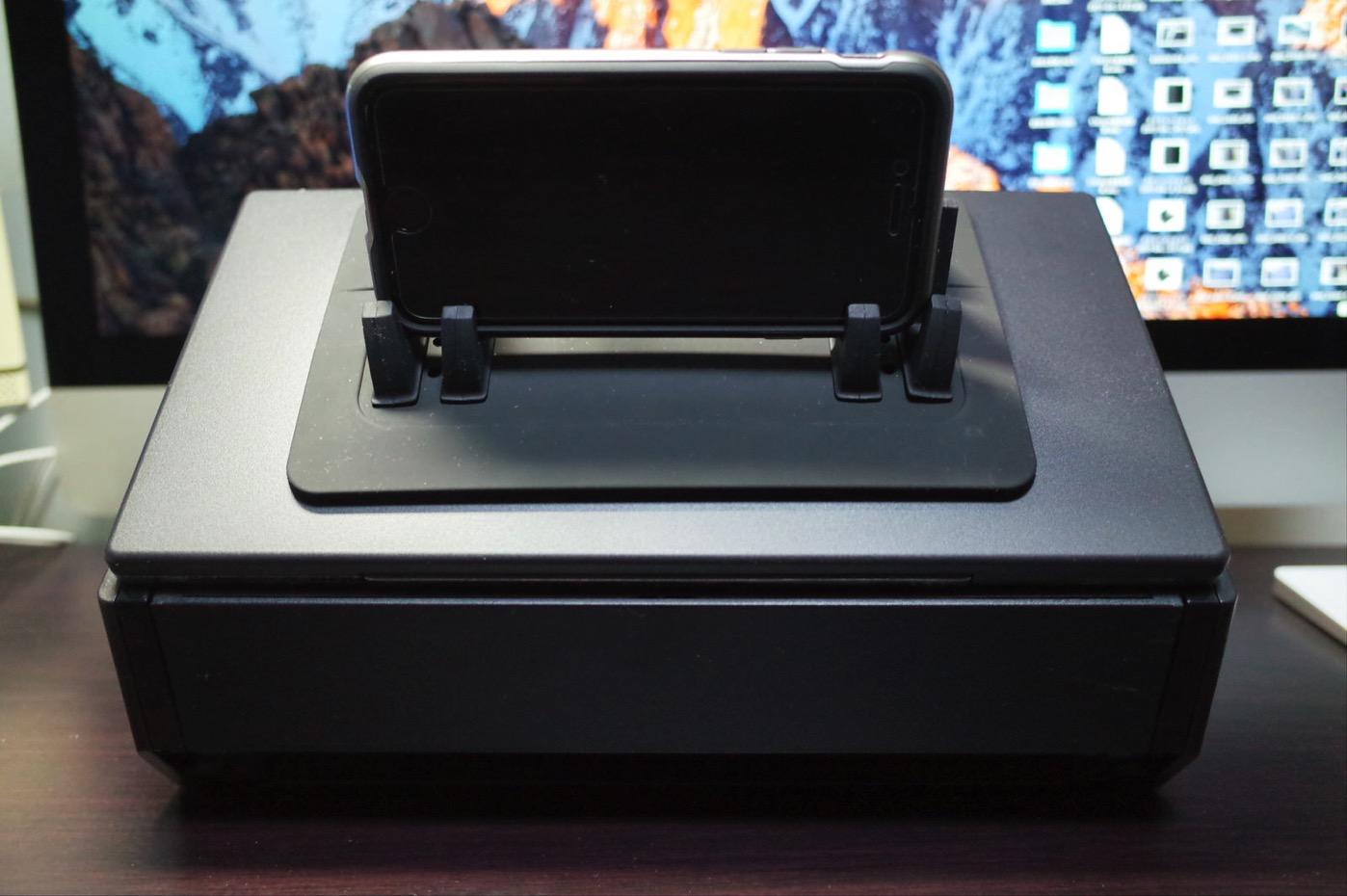 EReachシリコンスマートフォン・携帯車載GPSホルダー ダッシュボード iPhone&Android スタンド (黒)-17