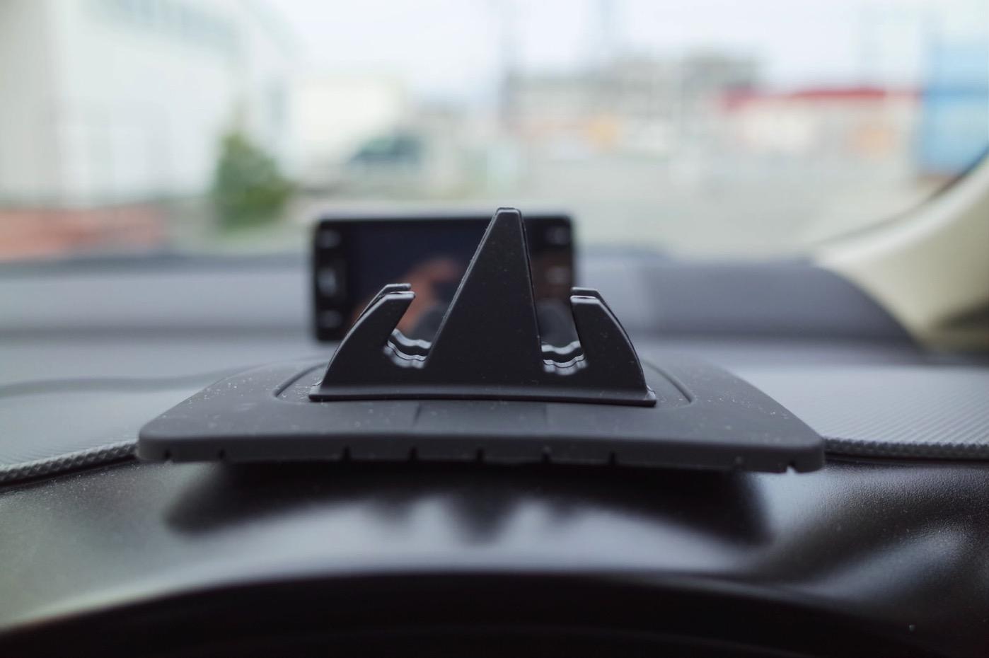 EReachシリコンスマートフォン・携帯車載GPSホルダー ダッシュボード iPhone&Android スタンド (黒)-10