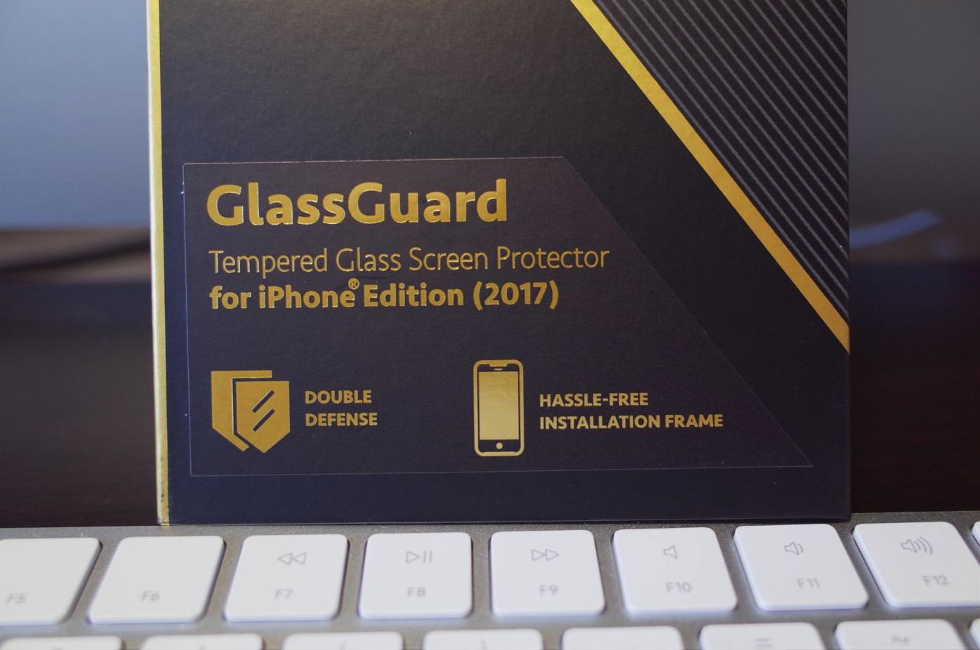 Anker KARAPAX GlassGuard iPhone X用 強化ガラス液晶保護フィルム-2