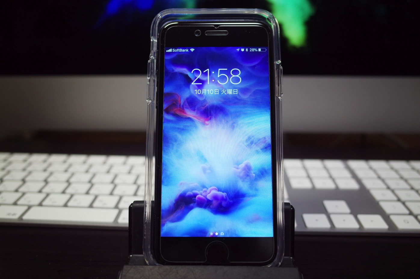 【Spigen】iPhone X ケース, [ 米軍MIL規格取得 落下 衝撃 吸収 ] ウルトラ・ハイブリッド アイフォン X 用 耐衝撃 カバー^13