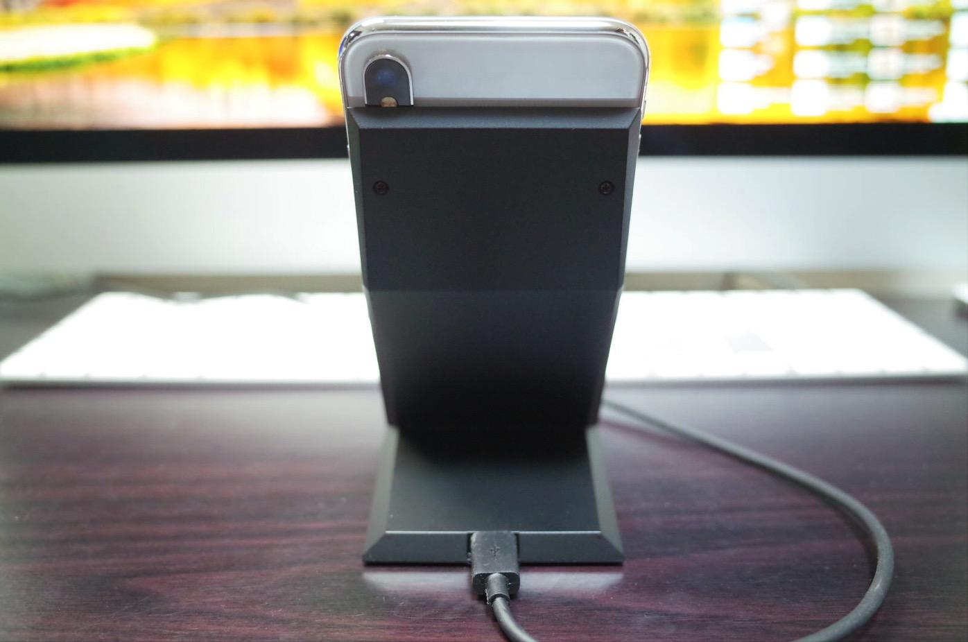 Qi 急速 ワイヤレス充電器 NANAMI Quick Charge 2.0 二つのコイル ワイヤレスチャージャー15