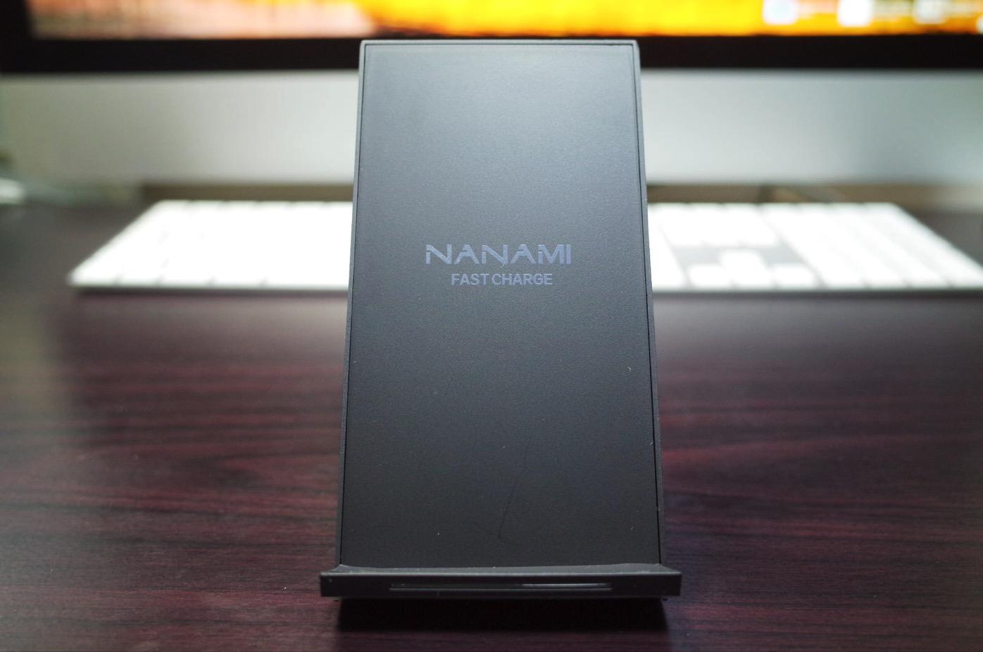 Qi 急速 ワイヤレス充電器 NANAMI Quick Charge 2.0 二つのコイル ワイヤレスチャージャー5
