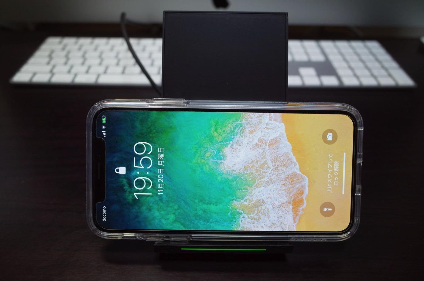 Qi 急速 ワイヤレス充電器 NANAMI Quick Charge 2.0 二つのコイル ワイヤレスチャージャー19