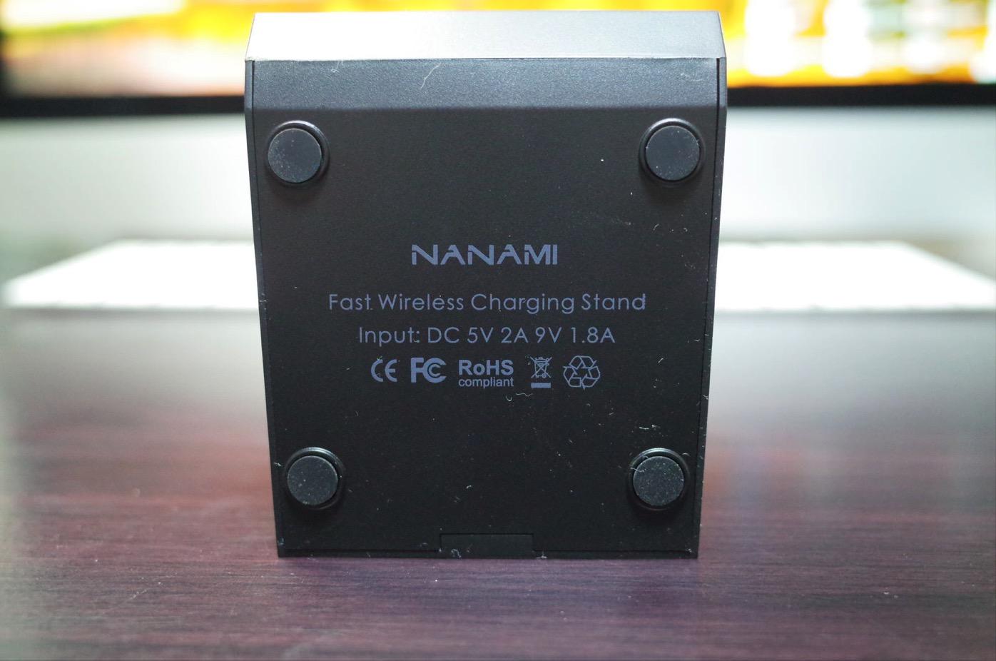 Qi 急速 ワイヤレス充電器 NANAMI Quick Charge 2.0 二つのコイル ワイヤレスチャージャー7