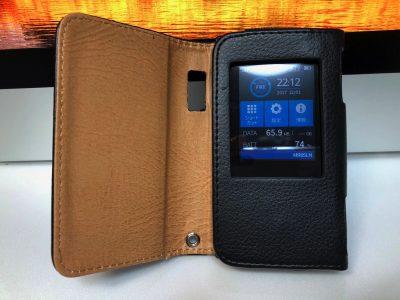 [Amazon]モバイルルーター「NEC Aterm MR05LN」のケースを購入して2日間使ってみた感想だよ