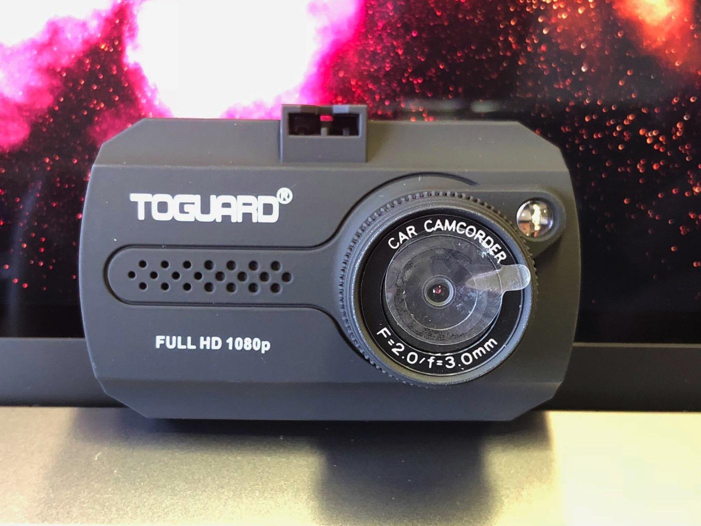 Toguard ドライブレコーダー ドラレコ 1080P フルHD 動き検知 常時録画 上書き録画 Gセンサー搭載 16Gカード付属-3