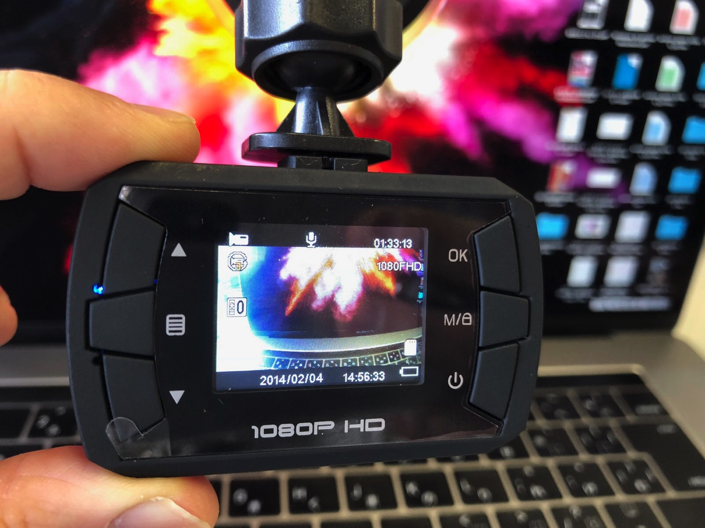Toguard ドライブレコーダー ドラレコ 1080P フルHD 動き検知 常時録画 上書き録画 Gセンサー搭載 16Gカード付属-11