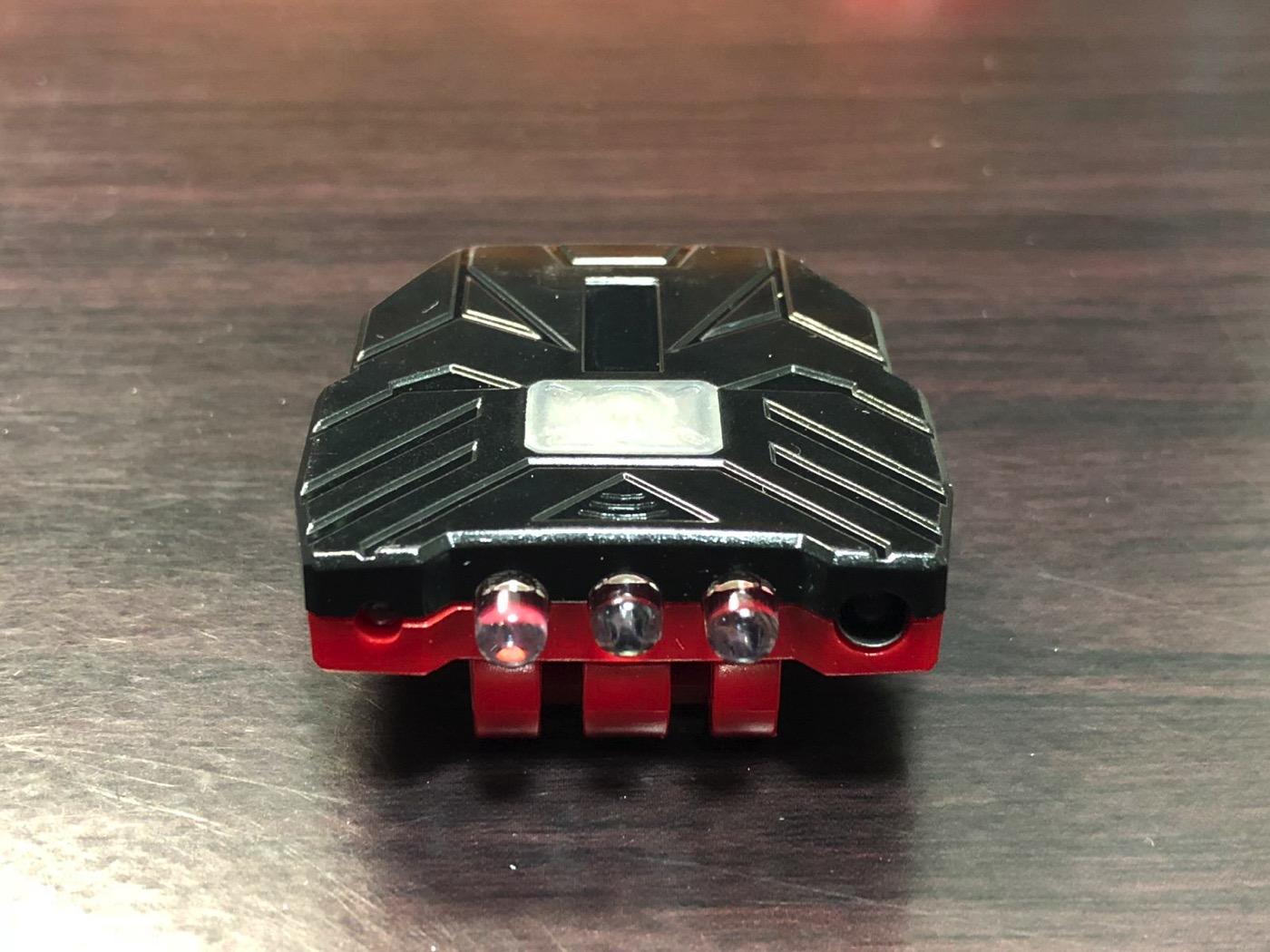 ヘッドライト 40ルーメン LEDキャップライト 帽子ライト センシング機能付 人感センサー ライト 2点灯モード 90度角度調節可能 帽子に挟んで使う-4