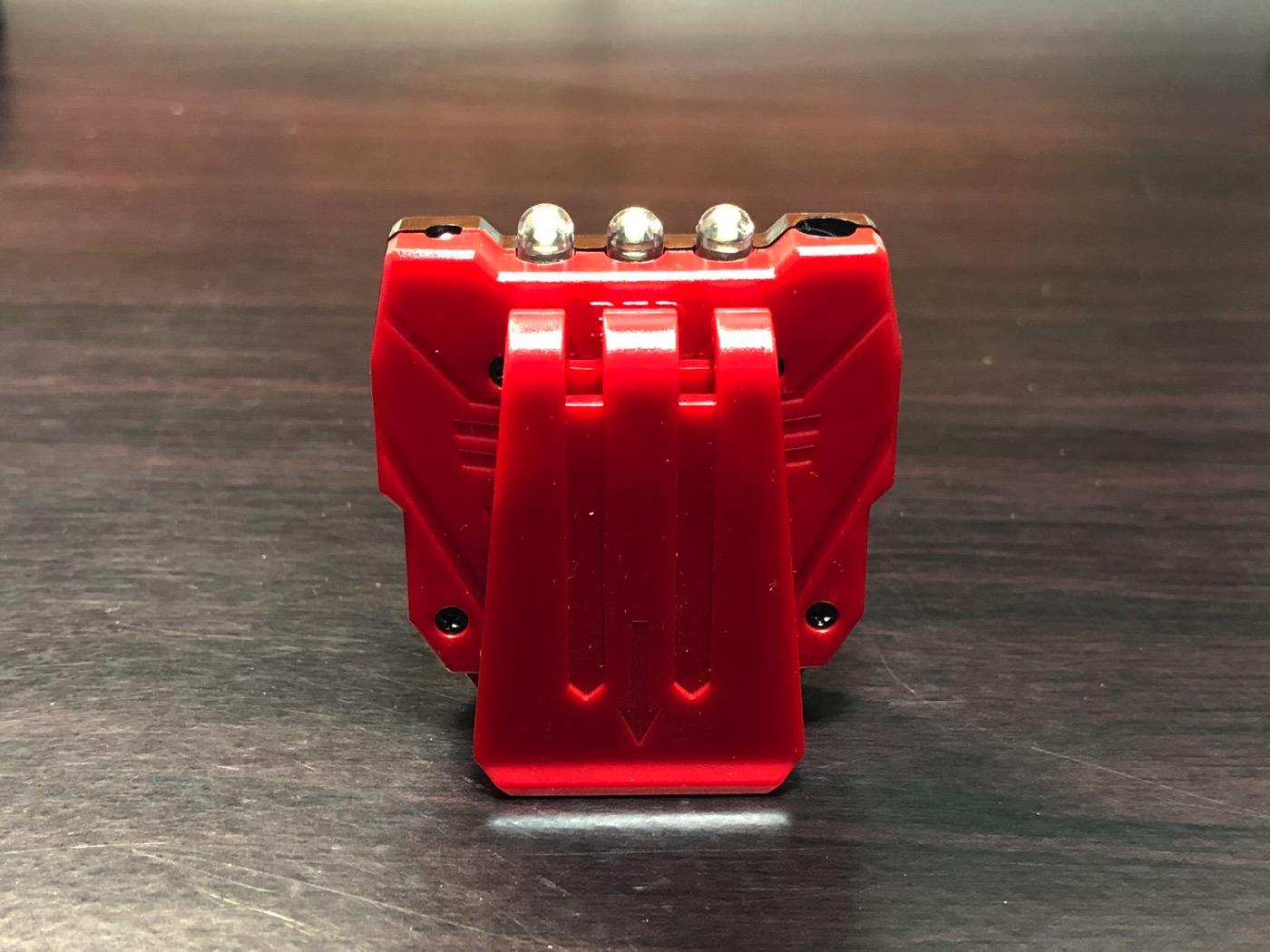 ヘッドライト 40ルーメン LEDキャップライト 帽子ライト センシング機能付 人感センサー ライト 2点灯モード 90度角度調節可能 帽子に挟んで使う-6