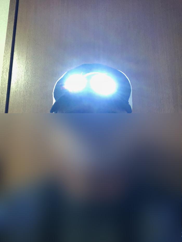 ヘッドライト 40ルーメン LEDキャップライト 帽子ライト センシング機能付 人感センサー ライト 2点灯モード 90度角度調節可能 帽子に挟んで使う-18