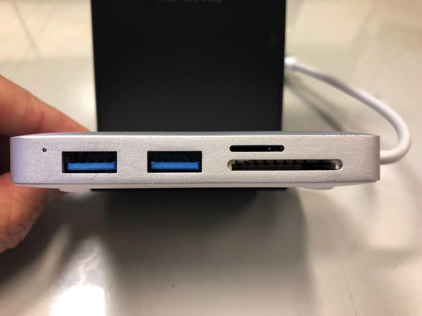 AUKEY USB C ハブ 7 in 1 マルチハブ-6