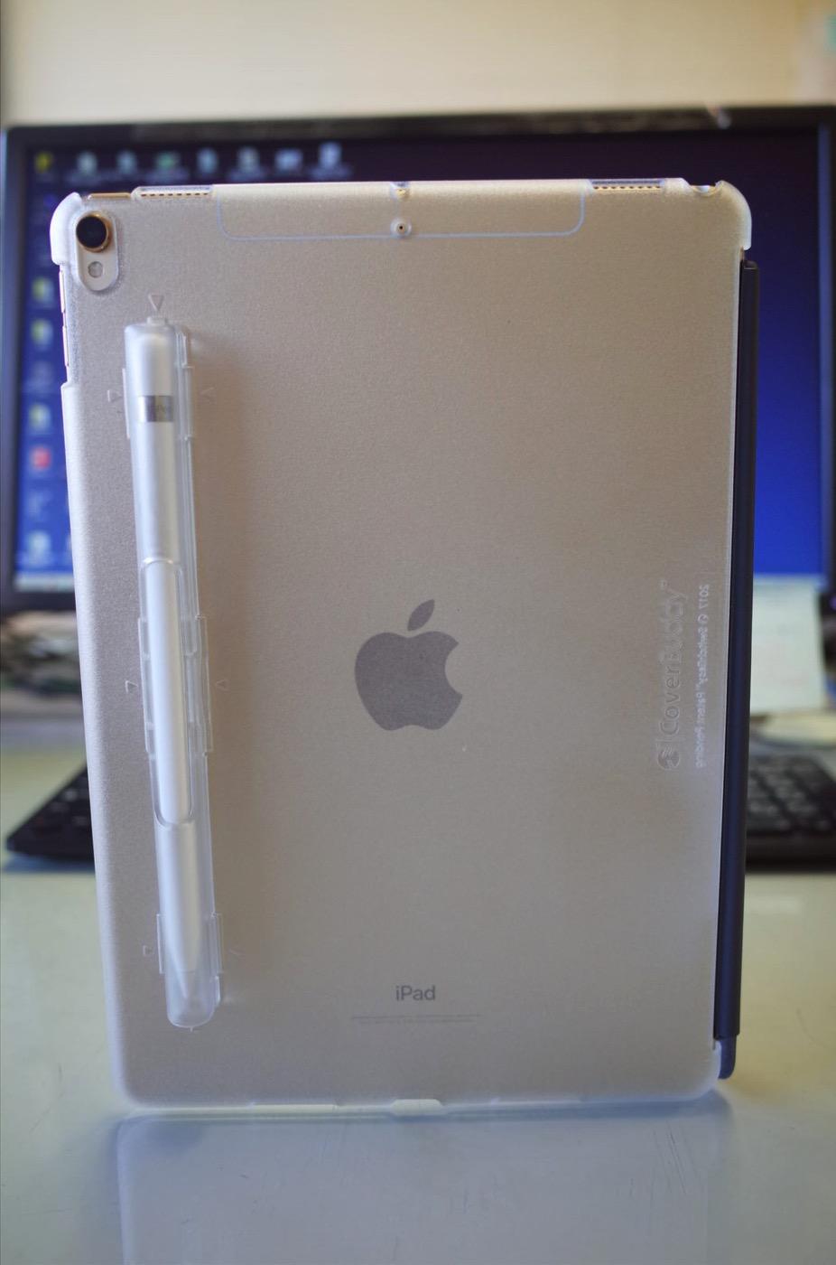 iPad Pro 10.5 ケース SwitchEasy CoverBuddy ハード バック カバー Apple Pencil 収納付き 純正 スマートキーボード 対応-12