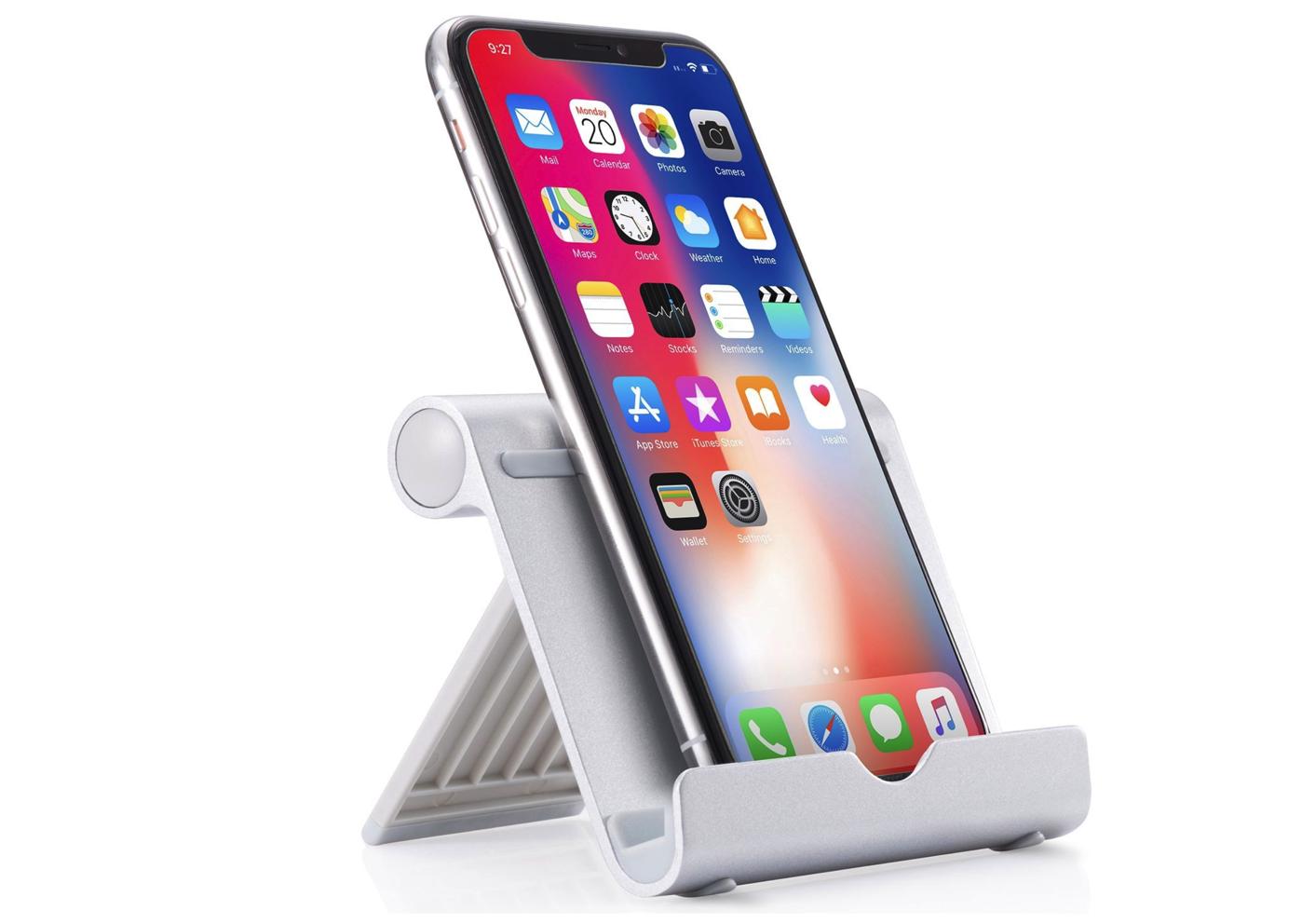 Anker タブレット用スタンド 角度調整可能 iPad・iPad mini・Nexus 7等 (シルバー)-1