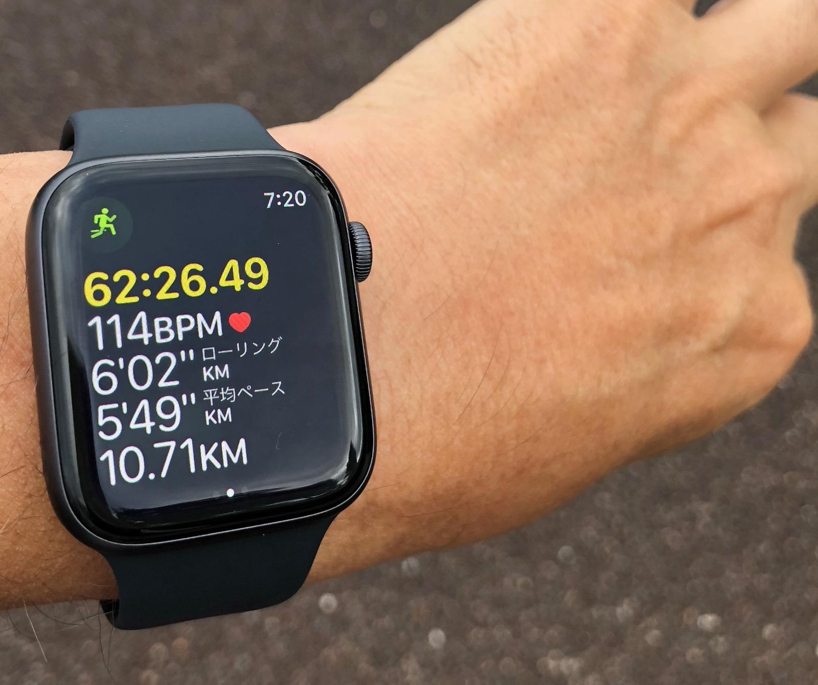[Apple Watch]新型「Apple Watch Series 4」を装着しランニング時に感じたこと