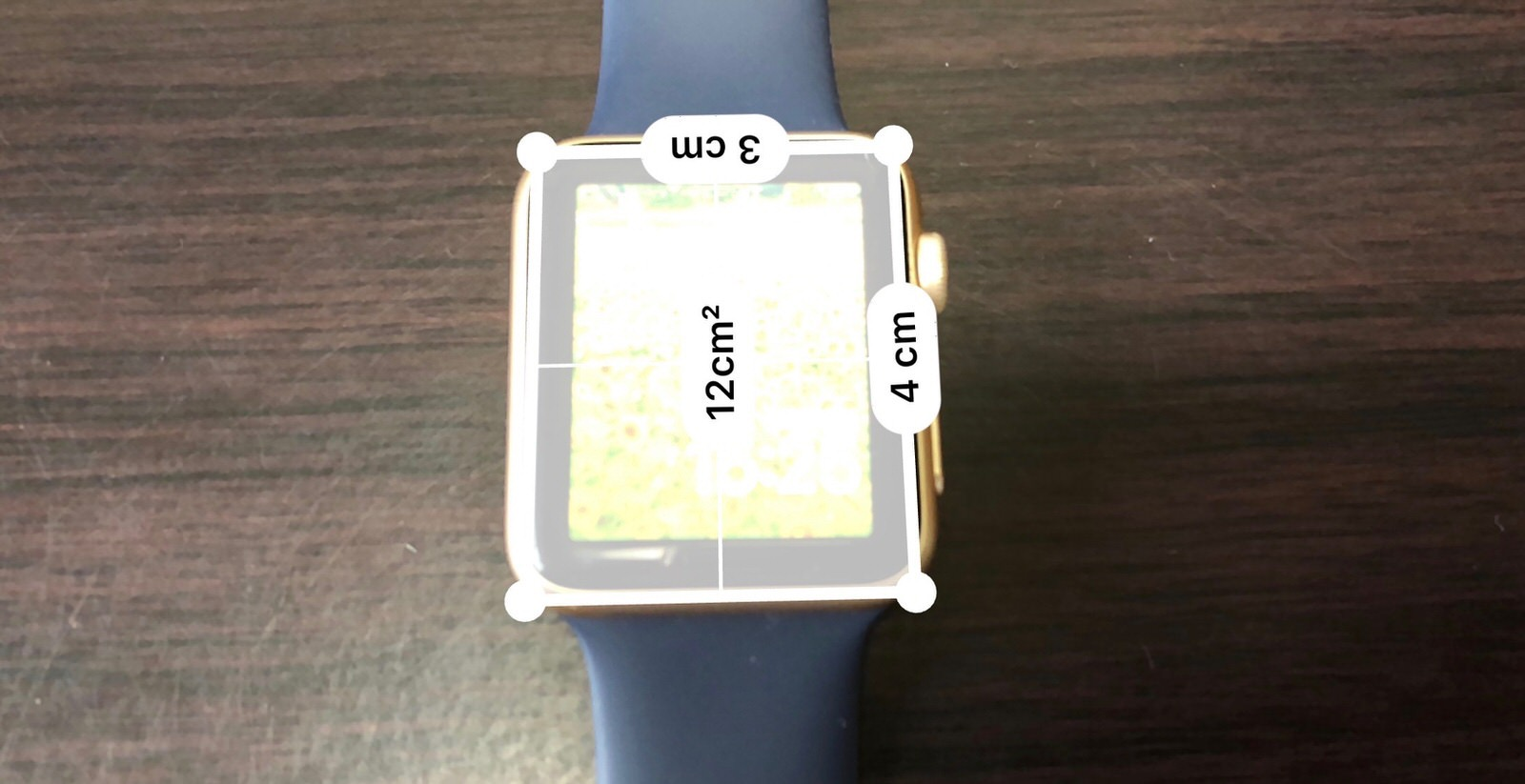 Apple Watch ディスプレイ相対比-2