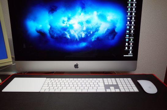 [Mac] 久しぶりにテンキー付きMagic KeyboardからMagic Keyboardに変えてみると机の上が広々快適にタイピングできたよ