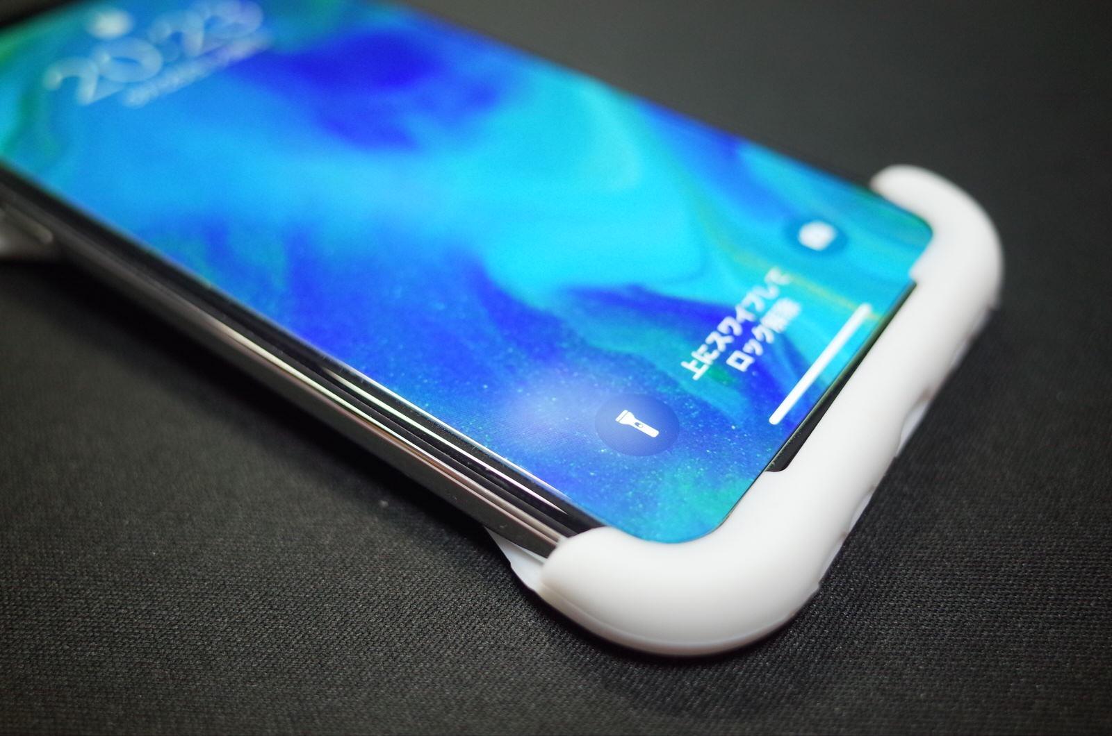 Palmo パルモ スマホケース iPhone XS/X 対応 ホワイト 白−9