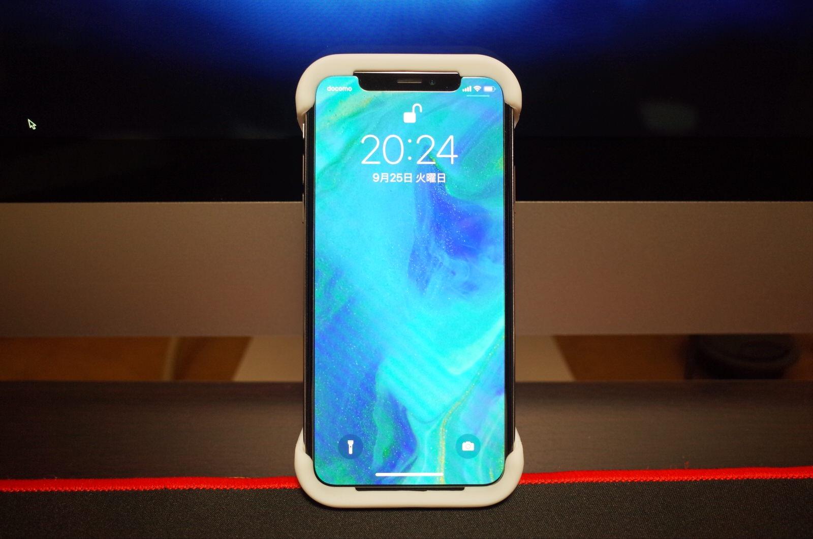 Palmo パルモ スマホケース iPhone XS/X 対応 ホワイト 白−6