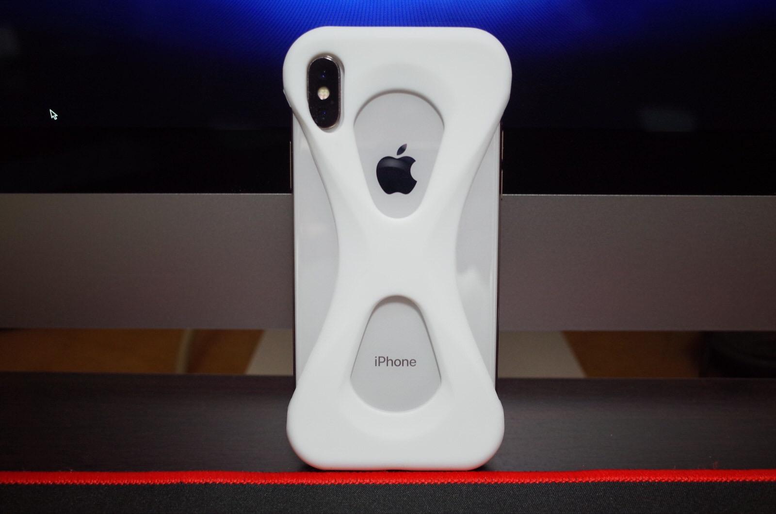Palmo パルモ スマホケース iPhone XS/X 対応 ホワイト 白−10
