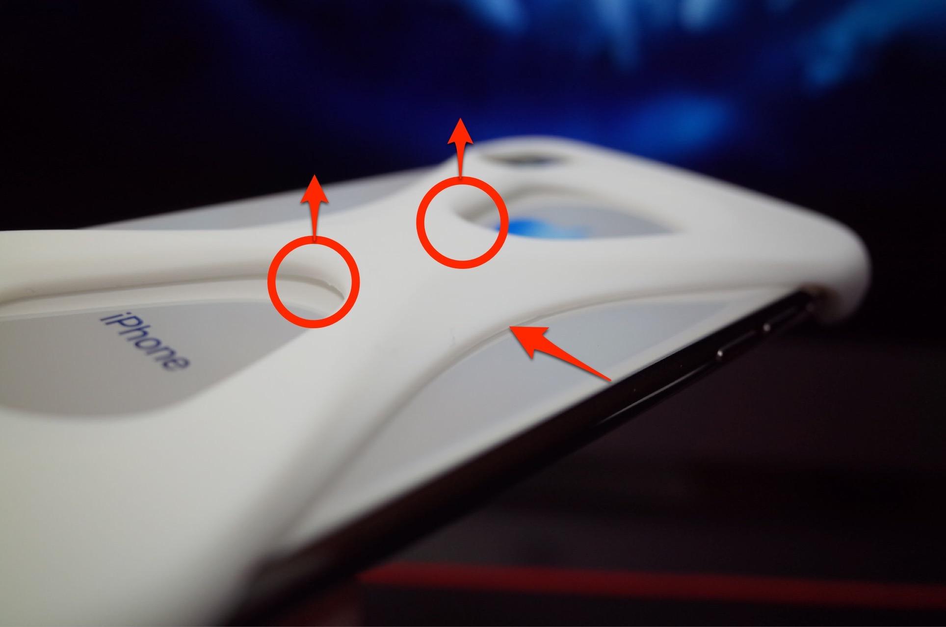 Palmo パルモ スマホケース iPhone XS/X 対応 ホワイト 白−15