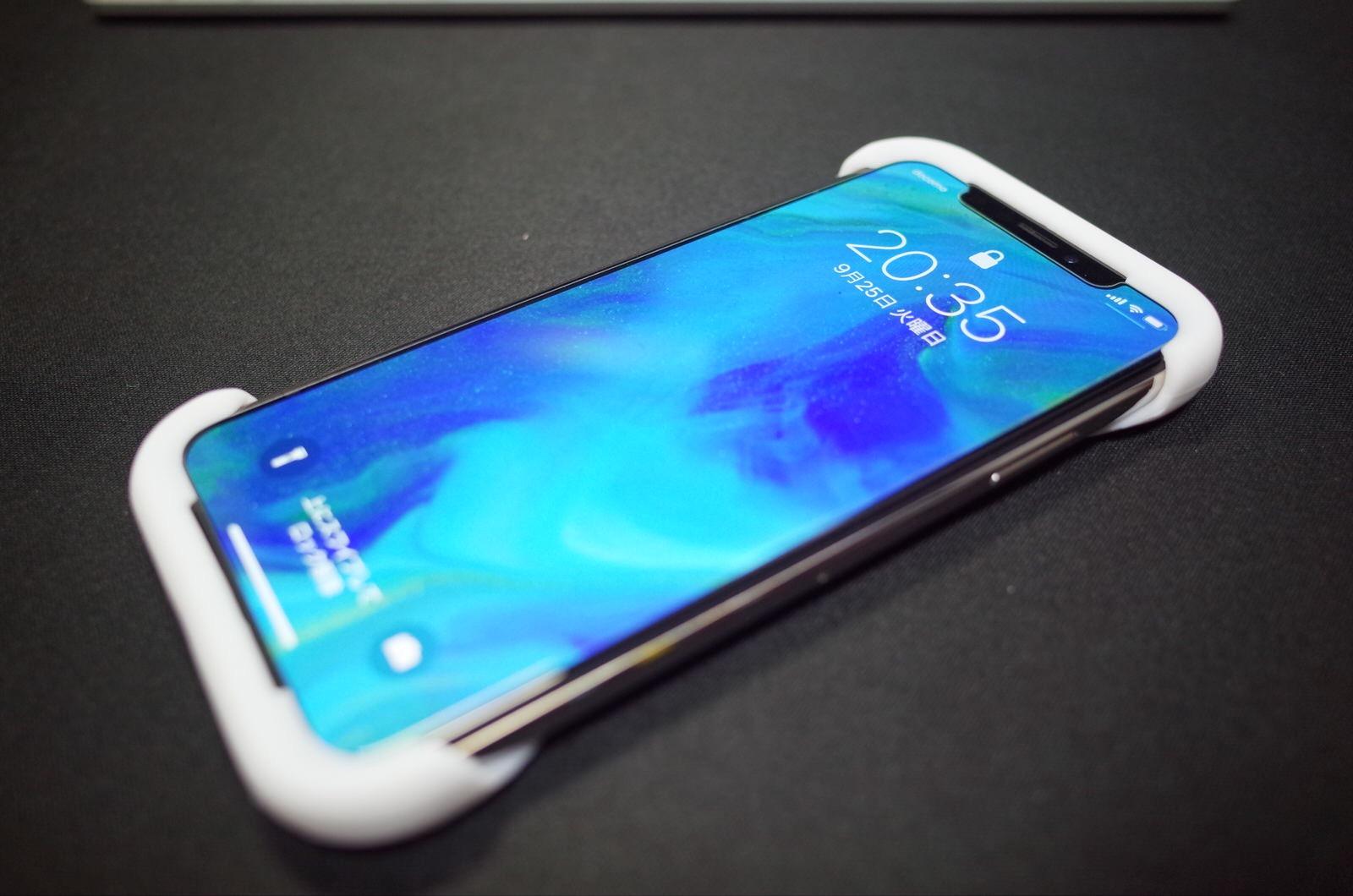 Palmo パルモ スマホケース iPhone XS/X 対応 ホワイト 白 −1
