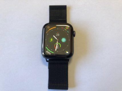 [Apple Watch]新型Apple Watch Series 4 にAmazonで購入したコスパ抜群のミラネーゼループ風バンドを装着して約10日過ごしてみたよ
