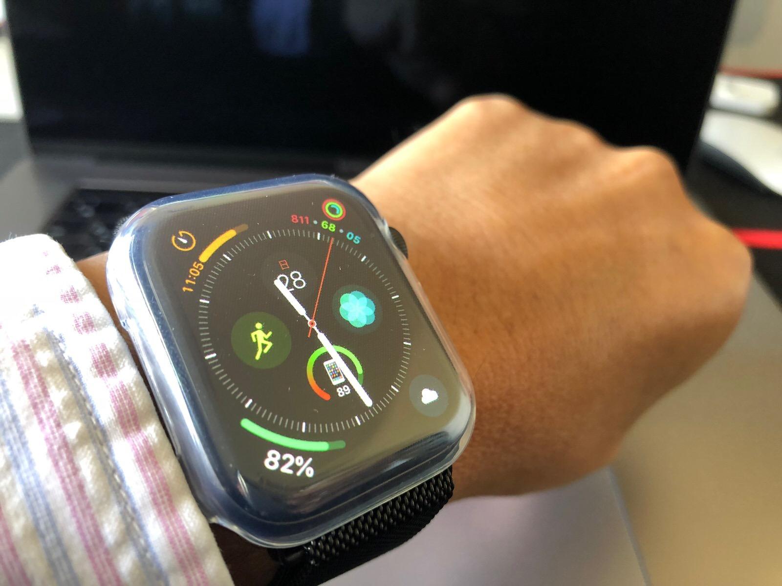 TOWOOZ【全面保護】Apple Watch 44MM ケース 透過率99% 柔軟 薄型Apple Watch Series 4 ケース-10