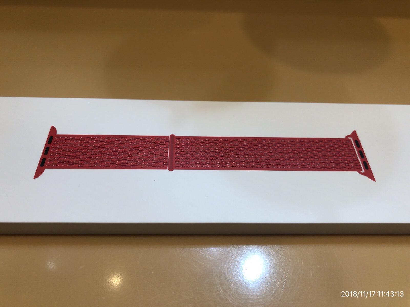 44mmケース用(PRODUCT)REDスポーツルー3