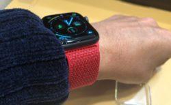 [Apple Watch]見た目、軽さ、装着感がとっても心地良い44mmケース用(PRODUCT)REDスポーツループが気に入ったよ