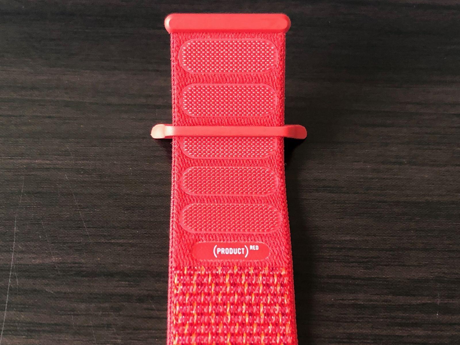 44mmケース用(PRODUCT)REDスポーツルー9