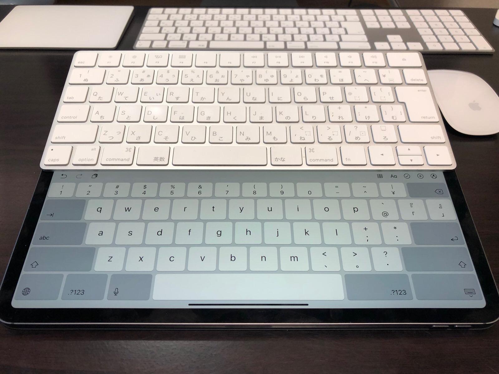 新型iPad Pro 12.9インチ+Apple Magic Keyboard-4