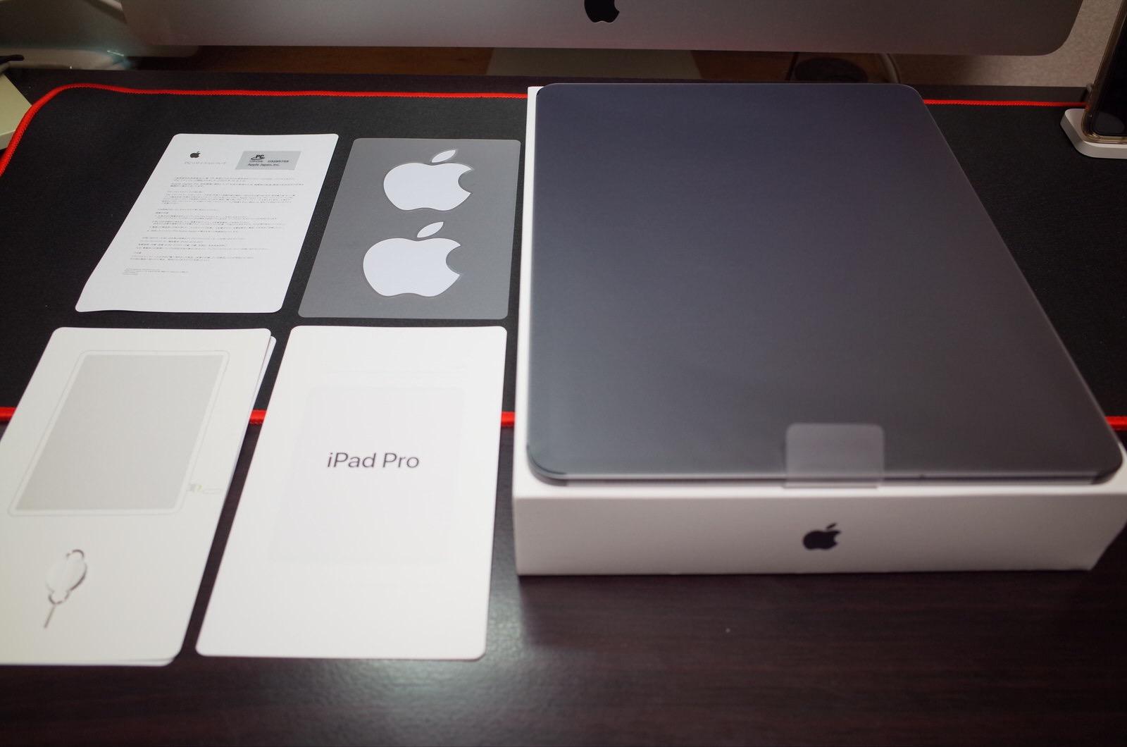 新型 iPad Pro 12.9インチ スペースグレイ 256GB セルラー版-9